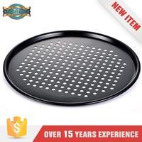 New Design Non-stick round pizza plate pan